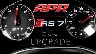 APR RS7 4.0T ECU Upgrade vs Stock - Acceleration
