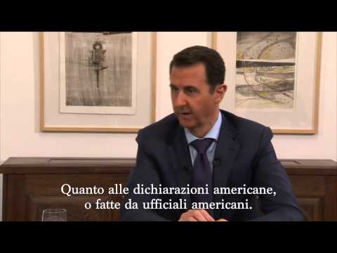 "Assad: ""L'Occidente cerca la guerra, in Ucraina come in Siria""."