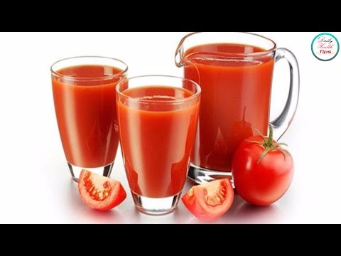 9 Reasons Why You Should Drink Tomato Juice Every Day