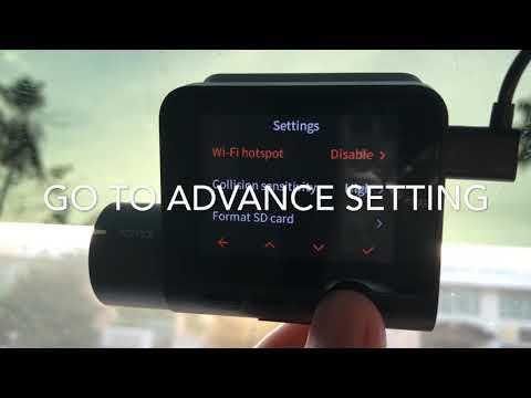 How To Calibrate 70mai Dashcam