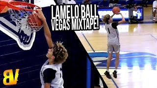 LaMelo Ball - Vegas 2017 SUMMER MIXTAPE - Melo Taking & Hitting RIDICULOUS Shots!