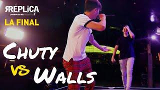 Chuty vs Walls: reto de intercambio de roles | La Gran Final RÉPLICA