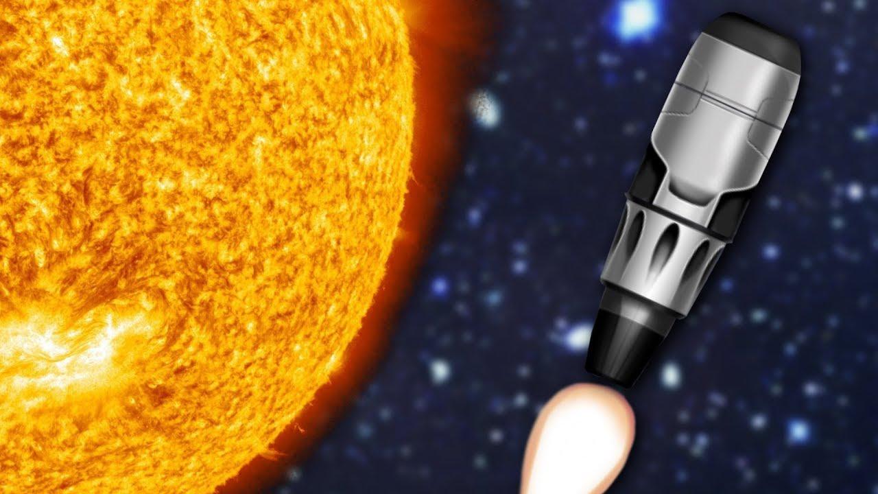 SLINGSHOTTING AROUND THE SUN - Simple Rockets #2 - YouTube