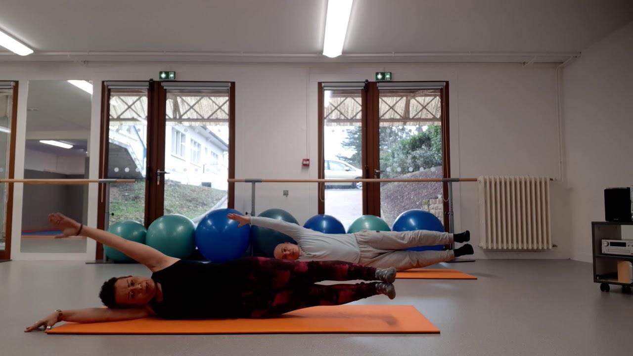 Pilates Stretch avec Yasmine et Stéphane