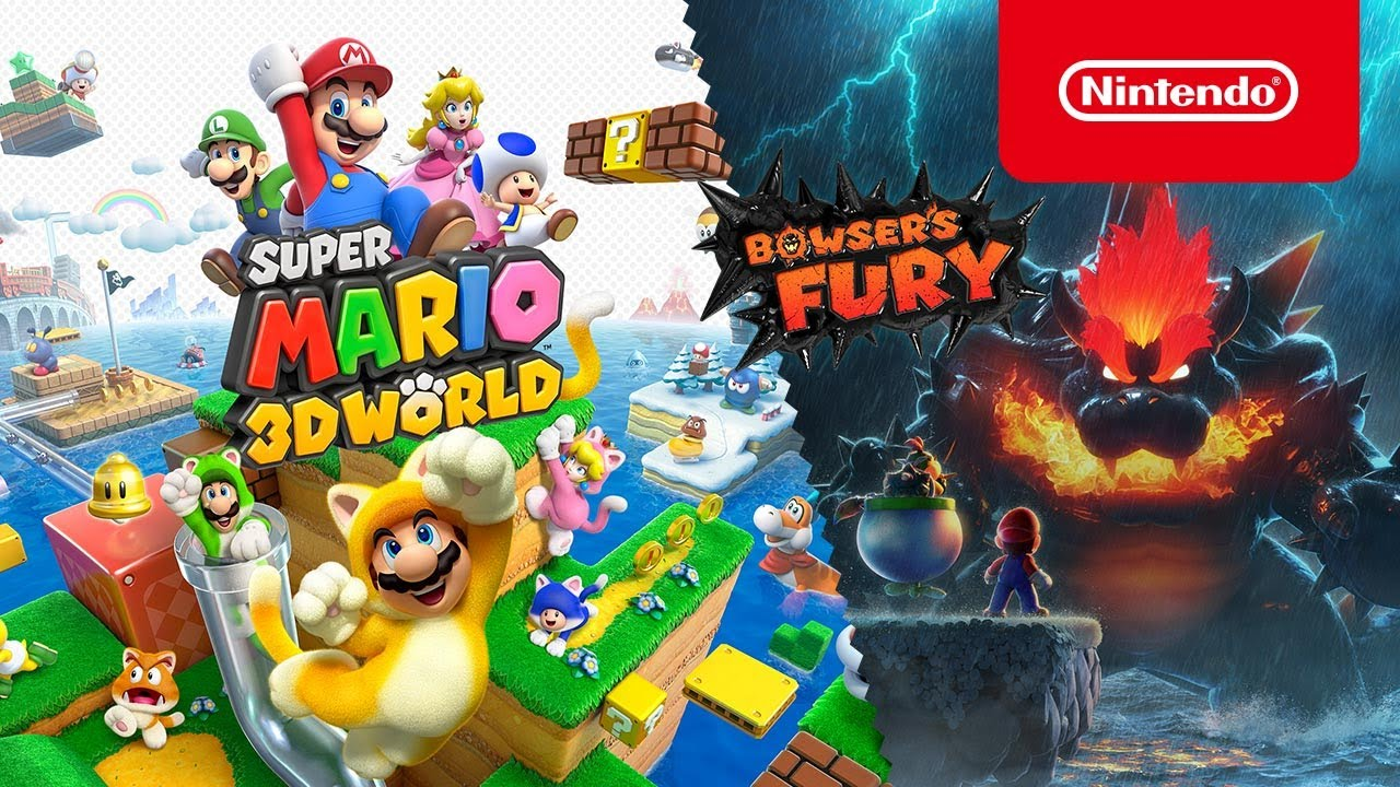 Super Mario 3D World + Bowser's Fury - Overview Trailer - Nintendo Switch