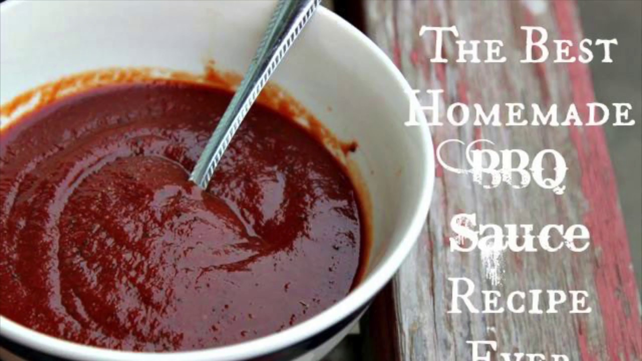 The Best Easy Bbq Sauce Recipe Ever Sidetracked Sarah