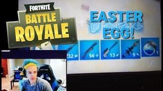 NEW ''I'M BLUE'' FORTNITE EASTER EGG revealed by Ninja!