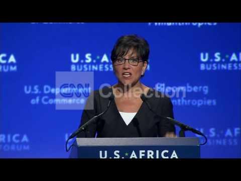 US-AFRICA BIZ SUMMIT-COMMERCE SECY-TWO WAY STREET