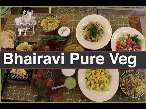 |Pune | Bhairavee  Pure Veg - Unique Veg Restaurant With Delicious Varieties  |Food Diaries|