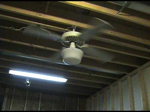1990 Hunter Original Ceiling Fan Youtube