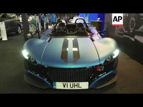 Luxury cars, SUVs and hydrogen fuel cells at London Motor Show