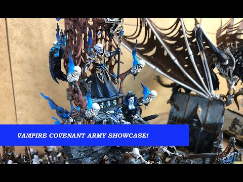 Vampire Covenant Army Showcase (The 9th age/Warhammer)
