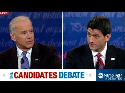 Vice Presidential Debate 2012: Joe Biden to Romney-Ryan on Economy: 'Just Get Out of the Way'