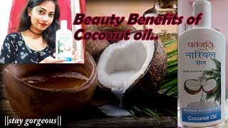 Beauty Benefits of Coconut Oil||3easy Home remedies||