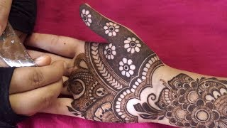 Latest and Most Exclusive Henna Mehendi design