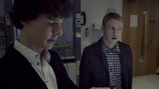 Шерлок 1 сезон 1 серия знакомство