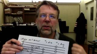identifying triads and labeling them using pop chord symbols