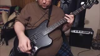 "Squier ""Vintage Modified"" Jaguar Bass SS demo/samples"