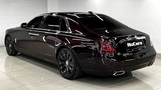 2021 Rolls-Royce Ghost Long - Sound, Interior, Exterior in detail