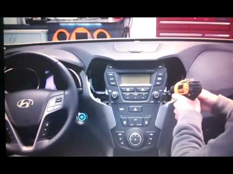 2013 2015 Hyundai Ix45 Santa Fe Refit Dismantle Radio