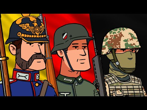Evolution Of German Army Uniforms | Animated History