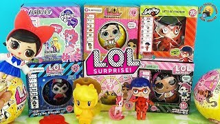ЛОЛ Конфетти поп ОРИГИНАЛ и ПОДДЕЛКИ Леди Баг и Май Литл Пони My Little Pony SURPRISE LOL Fake Dolls