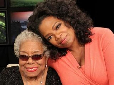 Oprah Tears Up While Talking About The Late Maya Angelou