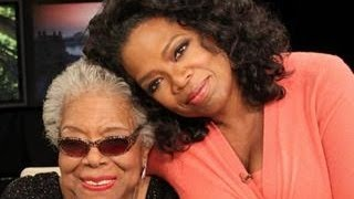 Oprah tears up remembering Maya Angelou  & Bill Clinton Speaks. #powerful