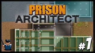 PRISON ARCHITECT - Let's Build a Prison! - Prison Architect Update
