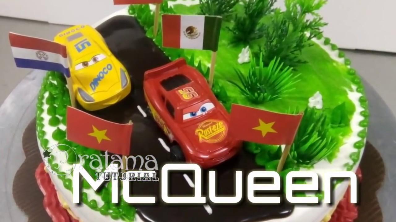 Kue Tart Mobil Mcqueen