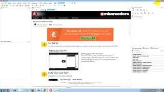 Видео урок #1:Как убрать в Delphi welcome page и заставку программы.