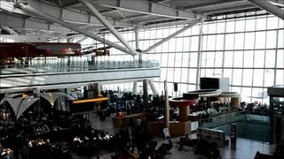 A Short Tour of London Heathrow Airport. Terminal 5