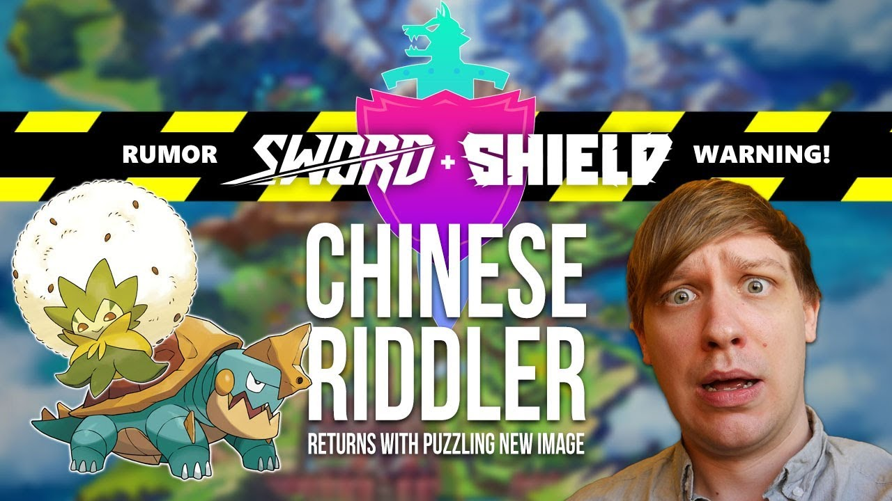Rumor Chinese Riddler Returns With Pokemon Sword Shield Hints