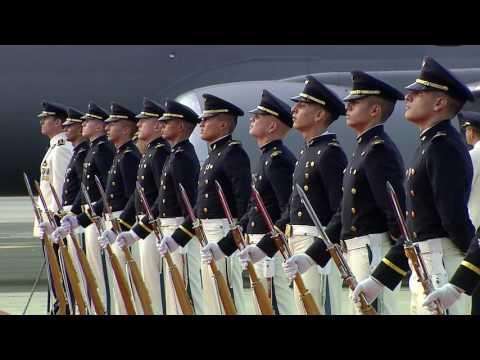 Llegada a Cali del Presidente de Perú, Pedro Pablo Kuczynski