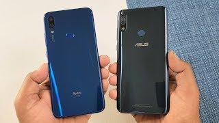 Redmi Note 7 vs Asus Zenfone Max Pro M2 SpeedTest & Camera Comparison
