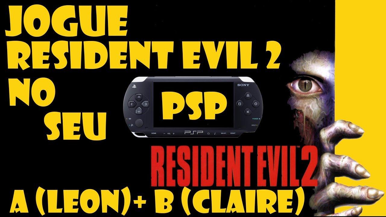 resident evil 2 psp