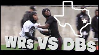 ???????? WRs vs DBs | Nike The Opening Regionals | Houston Texas | 2018