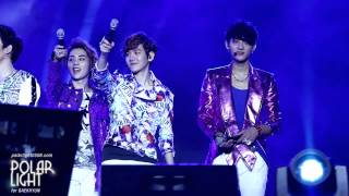 [POLAR LIGHT]130119 DKFC in Manila BAEKHYUN cut
