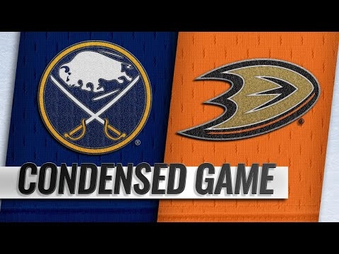 10/21/18 Condensed Game: Sabres @ Ducks