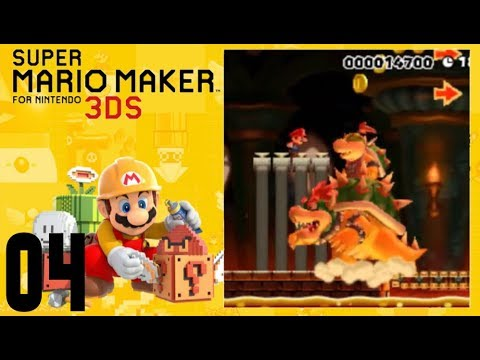 MUNDO #4 - SUPER MARIO MAKER 3DS - ESPAÑOL
