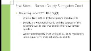 Tampa Bay Estate Attorney | Decanting - How to Distribute Assets from an Old Trust to a New Trust