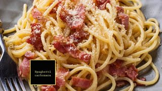 How to make spaghetti carbonara,Italian cuisine with a twist,Lucie Claire&#39s recipes #9