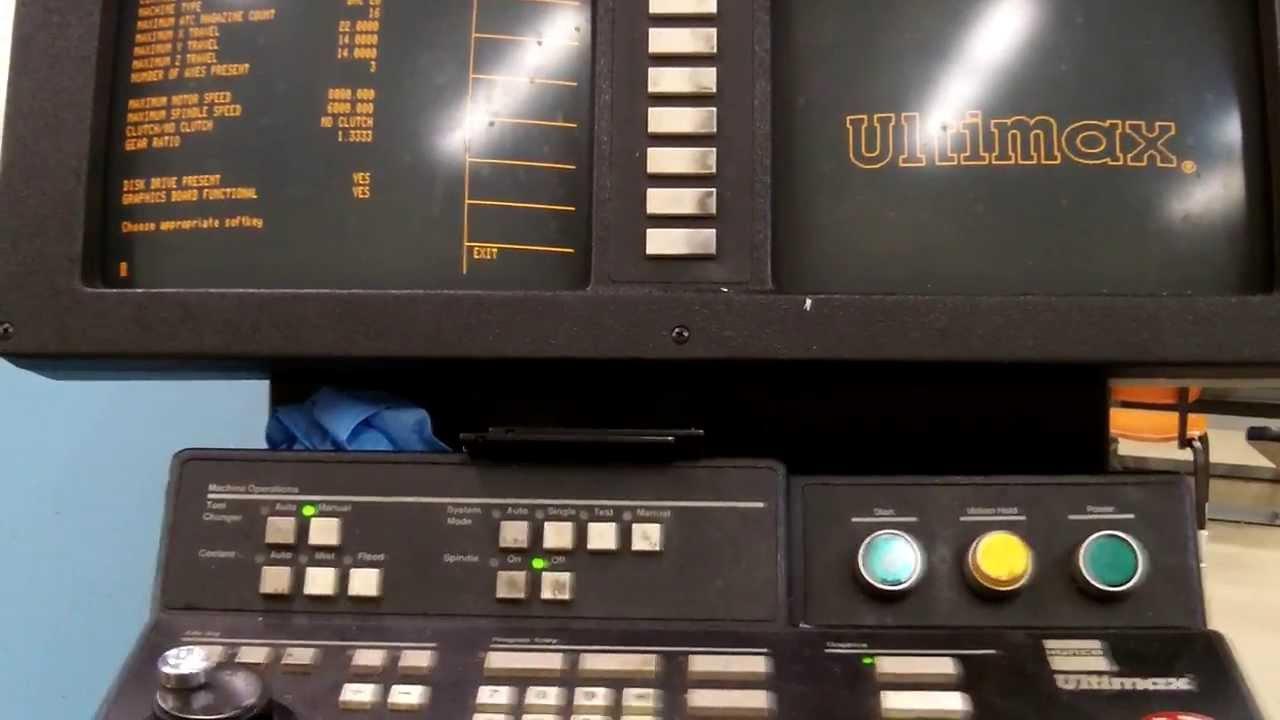 hurco start up youtube rh youtube com Hurco Winmax Software Hurco Ultimax Software