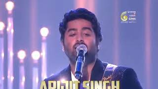 Janam Janam By Arijit Singh In Gima Awards 2017