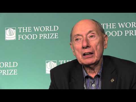 Winning the World Food Prize 2013: The Case for Biotechnology