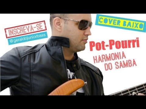 Harmonia Do Samba - Vem Neném/Desafio/Agachadinho - Baixo Cover - Geraldo Júnior