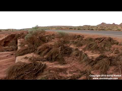 August 2nd Antelope Canyon and Page Arizona Flooding Aftermath