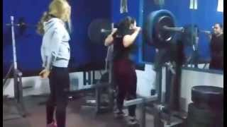 160kg squat