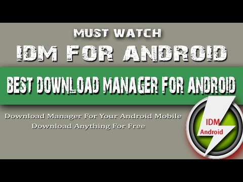 Best Download Manager For Android | IDM for Android | How To Hindi Tech Point