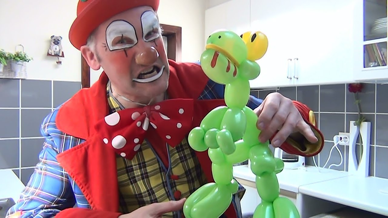 how to make an easy balloon animal